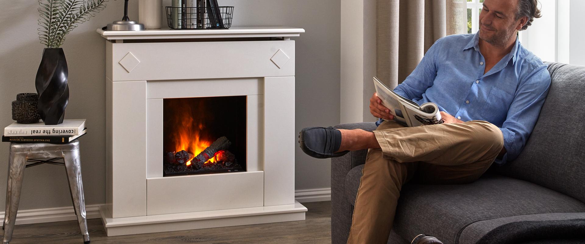 elektrokamin. Black Bedroom Furniture Sets. Home Design Ideas